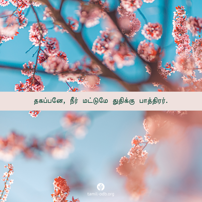 Share Tamil ODB 2020-10-28