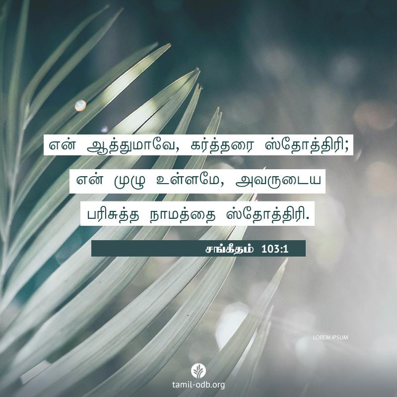 Share Tamil ODB 2020-07-05